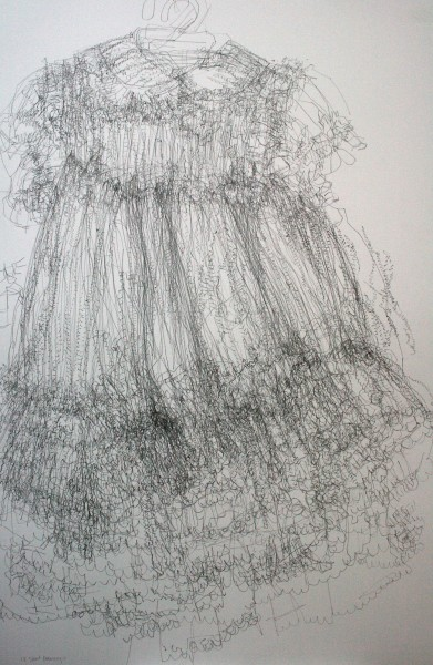 18 Short Drawings, pencil on paper, 66 x 100cm