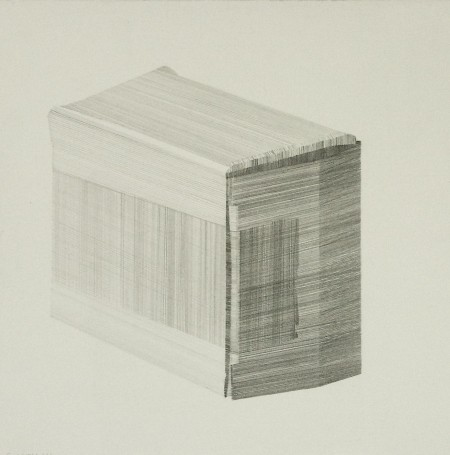 Package (ii), pencil on paper 19 x 19cm