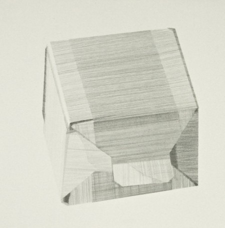 Package (v), pencil on paper, 19 x 19cm