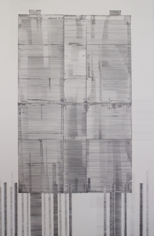 Made and Considered, pencil on paper, 64 x 102cm