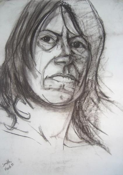 conte on paper