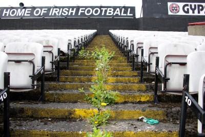 The Home of Irish Football, Dalymount Park, photo Dorothy Smith