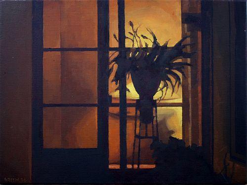 Front Porch, oil on canvas, 40 x 30cm