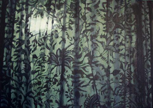 Window Dressing, oil on canvas, 70 x 50cm