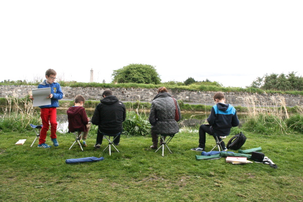 Drawing the Everyday by the Royal Canal