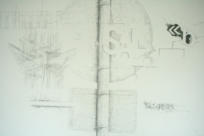 Detail - with drawings by Dorothy Smith and Kathy Herbert