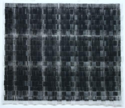 City Drawing (grid ii) charcoal on paper 35 x 30cm