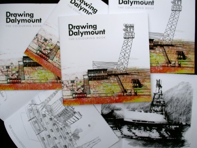 Drawing Dalymount - The Colouring Book