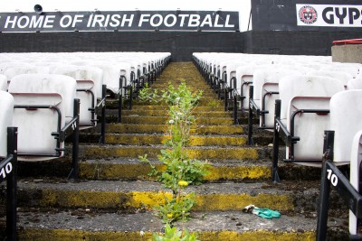 The Home of Irish Football, Dalymount Park, photo Dorothy Smith